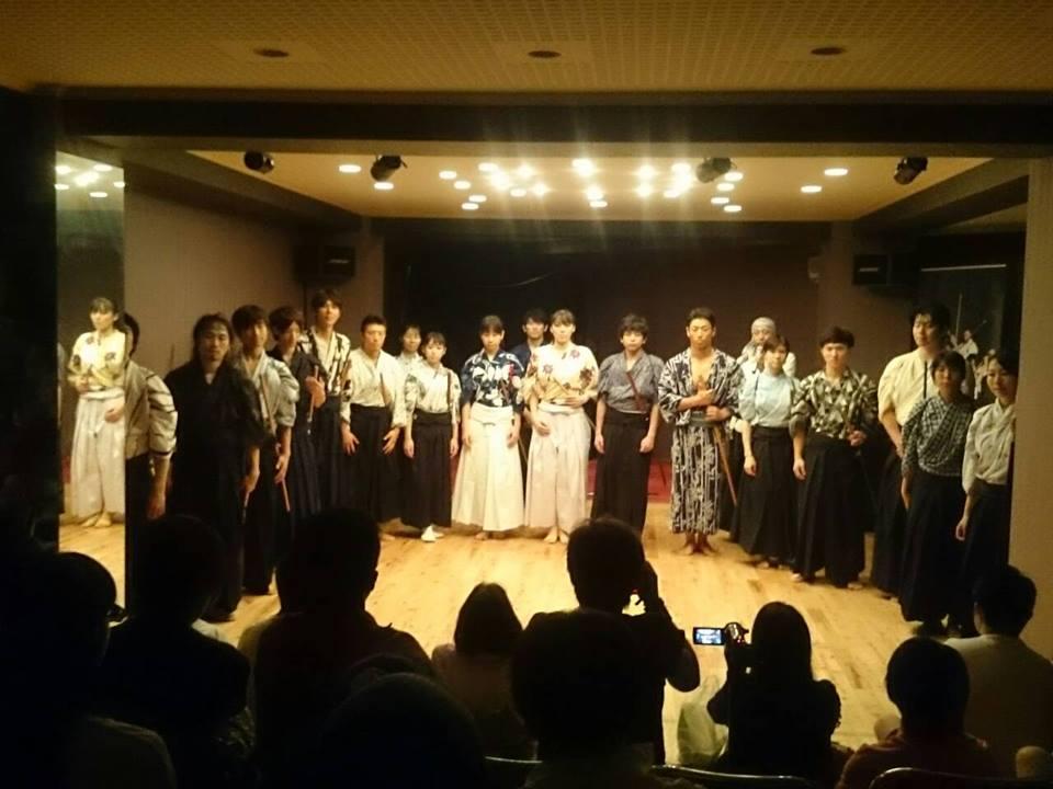 【募集終了】殺陣舞台「魂の剱伎道vol.3」オーディション